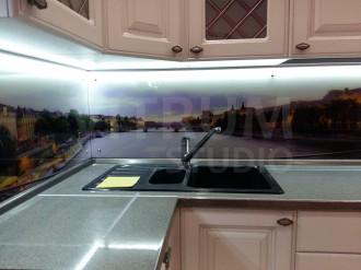 UV фотопечать на стекле фартуки с фотопечатью скинали иркутск